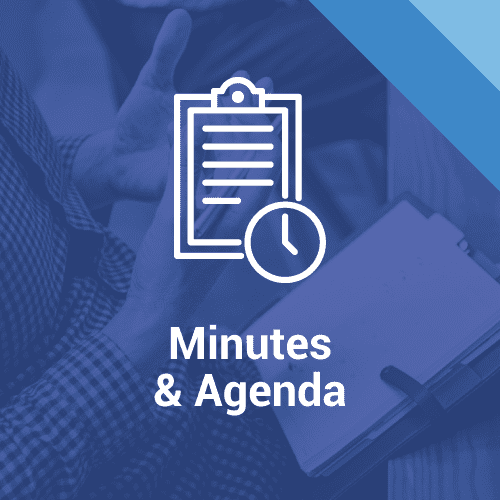 Minutes and Agenda